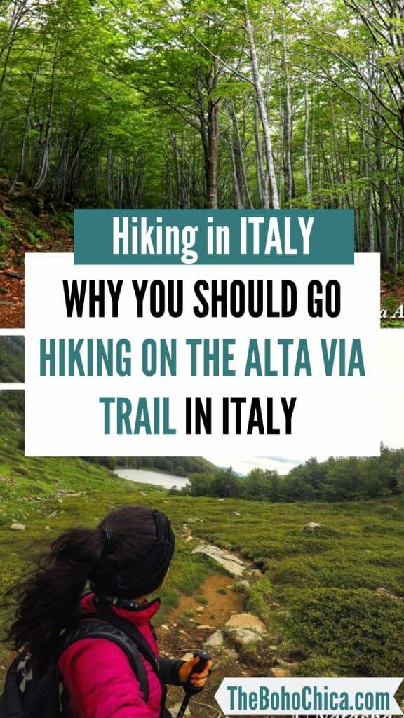 Alta Via 1: Want to go hiking in Italy? Here's what it's like to hike the Alta Via Trail in Italy's Emilia Romagna region.  #Italytravel #traveltoItaly #hikinginItaly #AltaVia #AltaViaHiking #emiliaromagna #inemiliaromagna