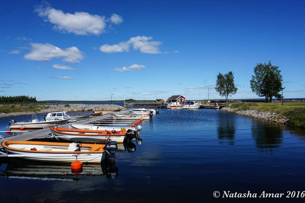 Skelleftea in Swedish Lapland