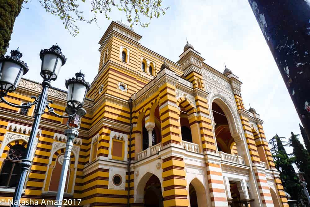 Things to do in Tbilisi: National Opera and ballet theater
