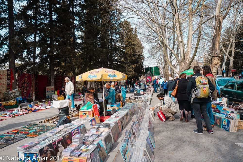 Things to do in Tbilisi: Dry Bridge Market, one of the coolest places to visit in Tbilisi