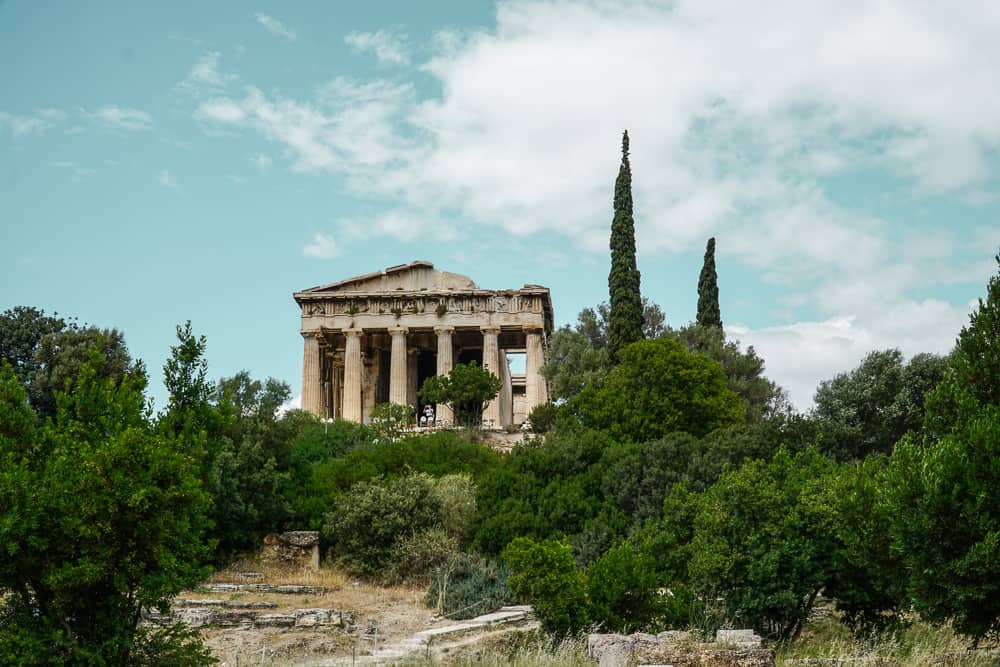 Temple of Haephestus: The Perfect Athens Itinerary for Things to do over 3 days in Athens