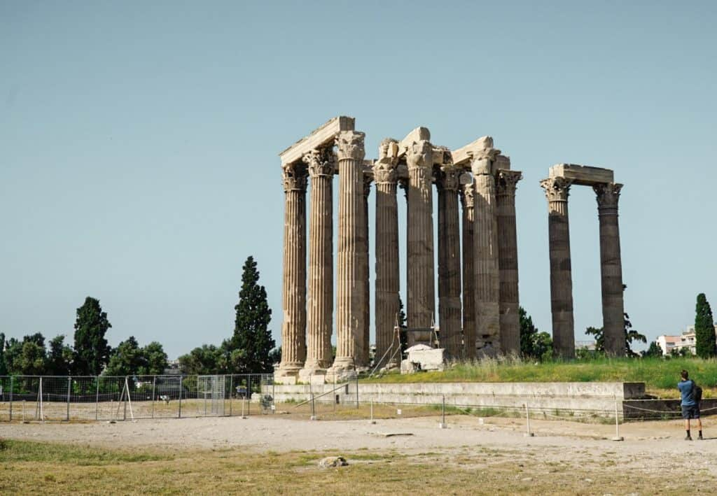 Temple of Olympian Zeus: The Perfect Athens Itinerary for Things to do over 3 days in Athens