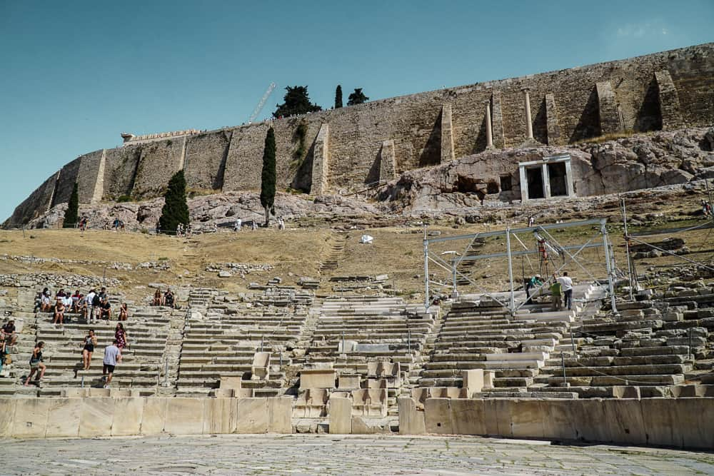 Theater of Dionysus: The Perfect Athens Itinerary for Things to do over 3 days in Athens