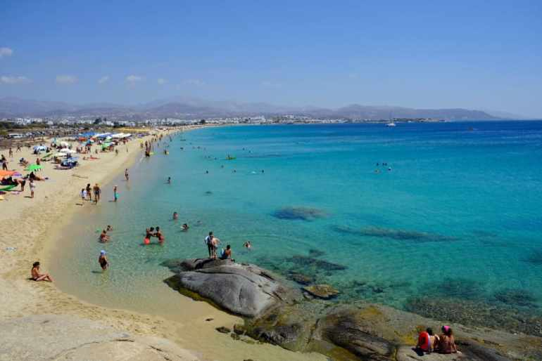 Agios Prokopios Enjoy a slice of island paradise on the best Naxos beaches in the popular Cyclades islands in Greece. From sandy beaches with crystal waters and secret coves for privacy, these are the best beaches in Naxos.
