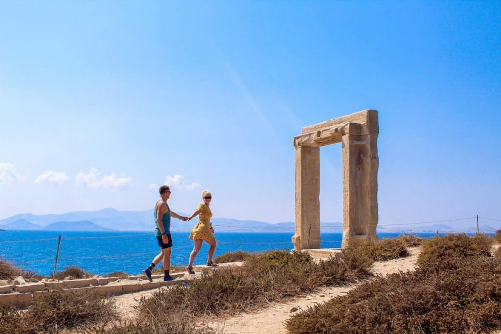 Apollo temple Enjoy a slice of island paradise on the best Naxos beaches in the popular Cyclades islands in Greece. From sandy beaches with crystal waters and secret coves for privacy, these are the best beaches in Naxos.
