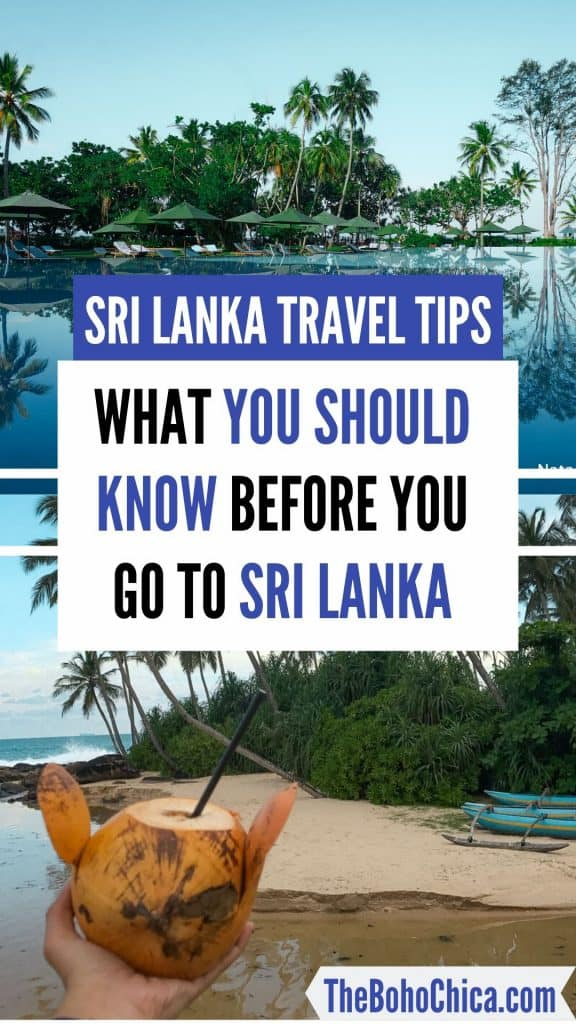 Sri Lanka Travel Tips: Things to know before you go to Sri Lanka