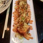 Firecracker sushi roll