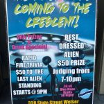 The aliens are coming to the Crescent Bar for the Solar Eclipse 2017