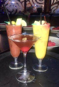 Cocktails at Izumi Steakhouse