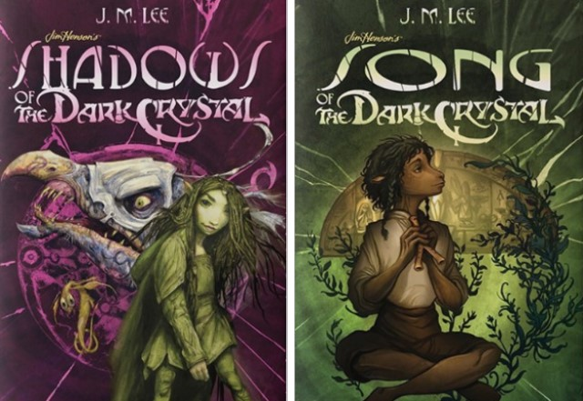 Dark Crystal Books covers