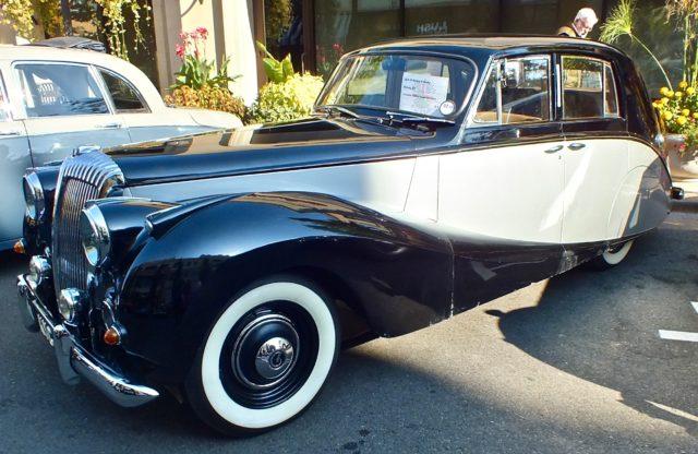 1952 Daimler Express at Meridian