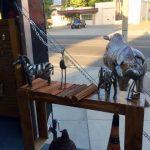 Art in the mobile art studio for Meridian Art Week