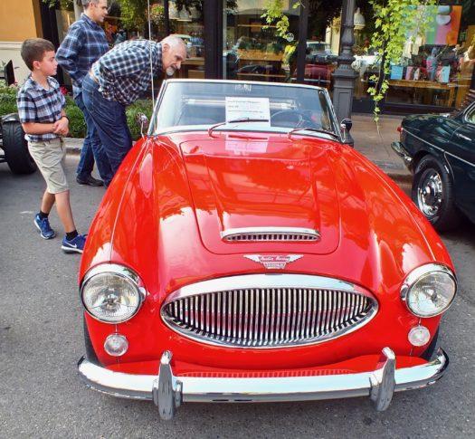 Austin Healy 3000 Sprite red