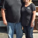George and Brenda from the Mann Creek Cafe and Country Store.