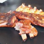 Look at the smoke ring on those delicious ribs!