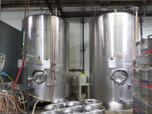 Brewing Tanks for Reed's Ginger Beer