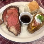 Smoked Prime Rib Plate at Big Daddy's BBQ
