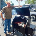 Smoking on a Sawtooth Grill at the BBQ Fest