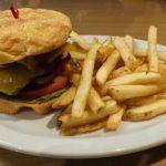 Tri Tip Burger Plate.
