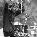 Drumming for the crowd