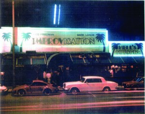 Exterior of the Hollywood Improv