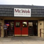 Entrance to Mr. Wok