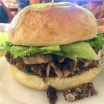 Vegan Burger with Umami Topping at BFC
