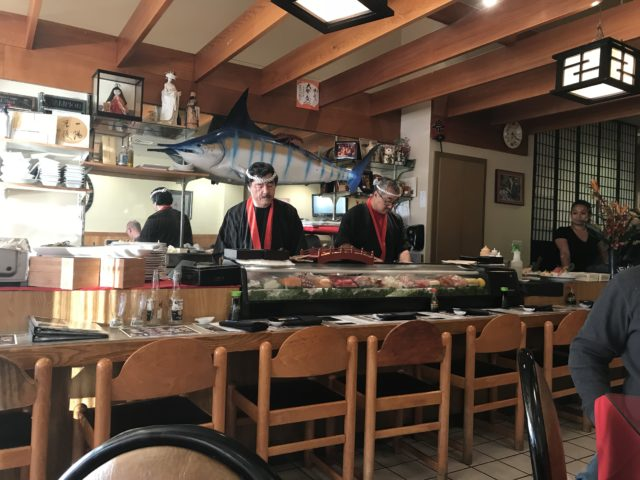 sushi Chefs at Shige Japanese Cuisine in Boise