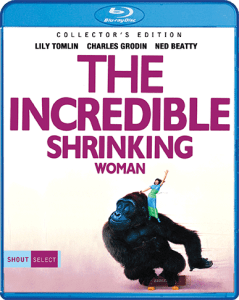 The Incredible Shrinking woman DVD cover