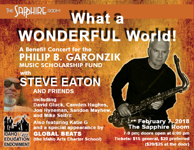 Poster for the Philip B. Garonzik Music Scholarship Fund