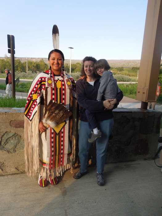 reigning Miss Blackfeet of her division and area that year - a real princess