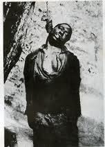 BLACK MAN LYNCHED