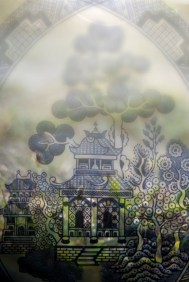 temple blurred