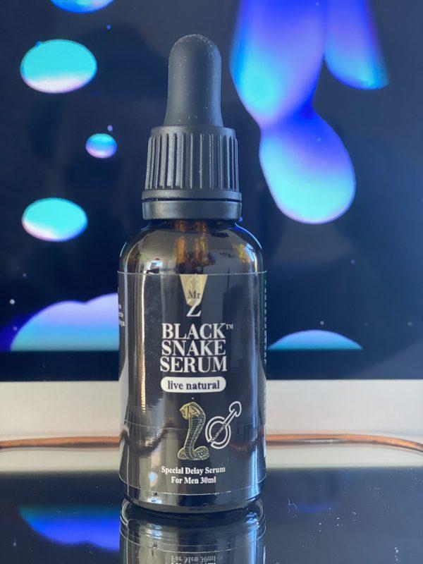 black snake oil