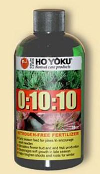 8 Oz Bottle Ho Yoku 0-10-10 Bonsai Fertilizer