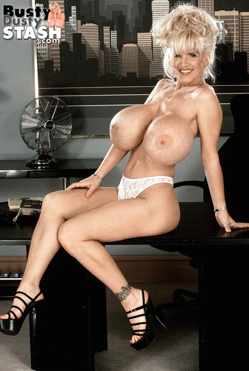 Busty Dusty busty secretary  The Boobs Blog