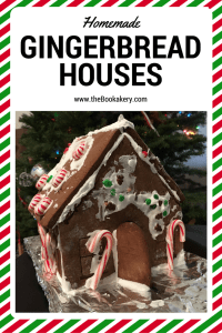 Homemade Gingerbread Houses Recipe included at www.theBookakery.com Bringing a tradition to a new generation.