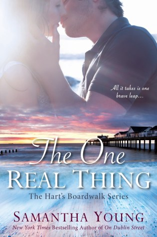 Blog Tour Review with Excerpt & Giveaway: The One Real Thing (Hart's Boardwalk #1)by Samantha Young @AuthorSamYoung