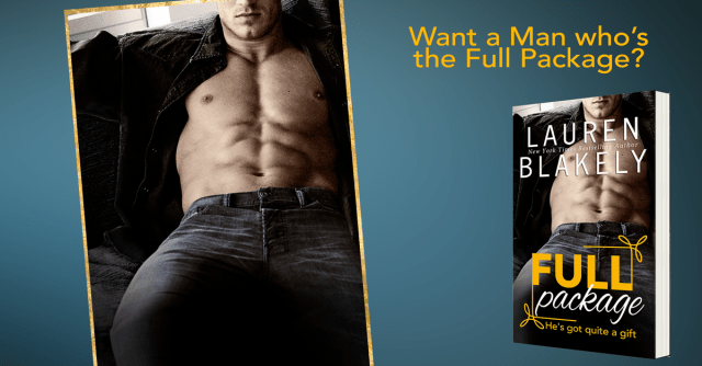 Release Day Launch with Excerpt & Giveaway: Full Package by Lauren Blakely @LaurenBlakely3