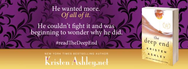 Trailer Reveal: The Deep End (The Honey Series) by Kristen Ashley @KristenAshley68