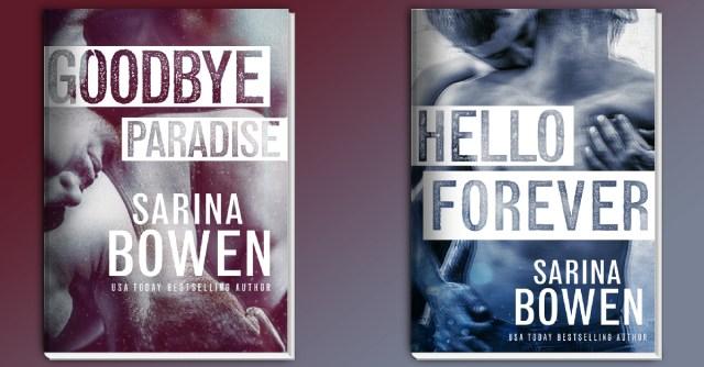 Cover Reveal: Goodbye Paradise by Sarina Bowen @SarinaBowen