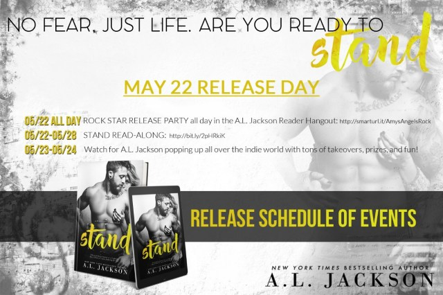 Release Day Blitz: Stand by A.L. Jackson @aljacksonauthor