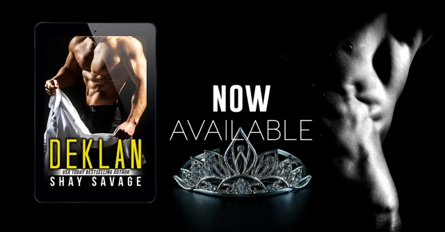 Release Day Blitz: Deklan by Shay Savage @Savage7289 @TheNextStepPR