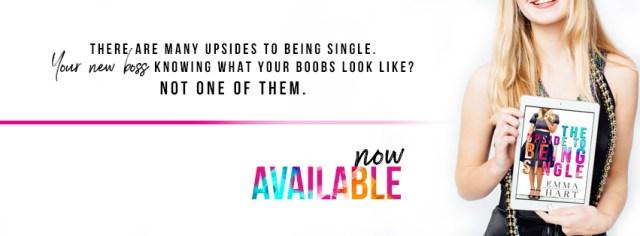 Release Day Blitz: The Upside of Being Single by Emma Hart @EmmaHartAuthor @InkSlingerPR
