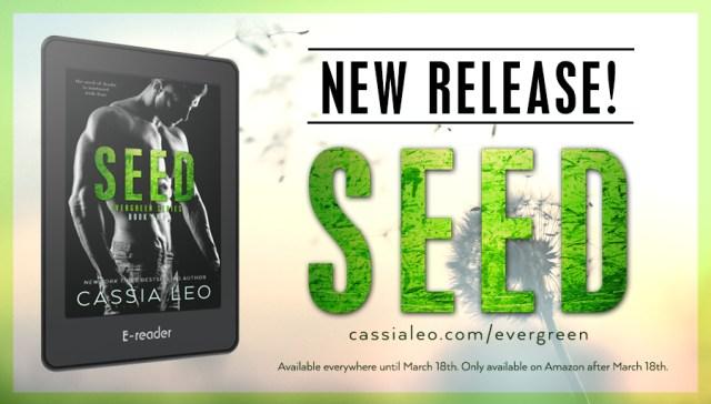 Release Day Blitz: Seed by Cassia Leo @cassialeo @inkslingerpr