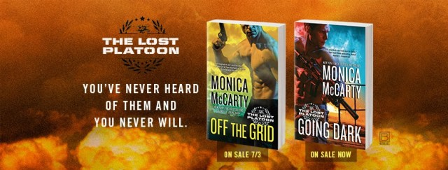 Review: Off the Grid (The Lost Platoon) by Monica McCarty @monicamccarty @BerkleyRomance