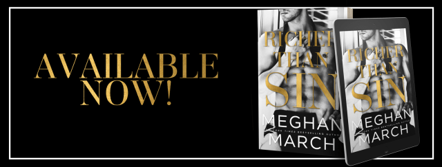 Release Day Blitz: Richer Than Sin by Meghan March @Meghan_March @InkSlingerPR