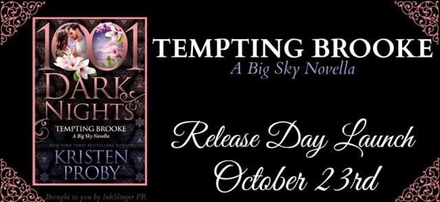 Release Day Blitz: Tempting Brooke by Kristen Proby @HandBagJunkie @1001DarkNights @InkSlingerPR