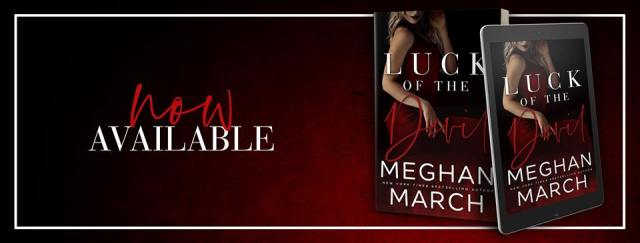 Blog Tour: Luck of the Devil by (Forge Trilogy Book 2) Meghan March @Meghan_March