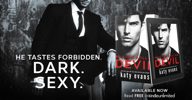 Release & Review: Million Dollar Devil by Katy Evens @authorkatyevans @jennw23